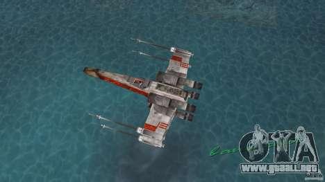 X-Wing Skimmer para GTA Vice City visión correcta