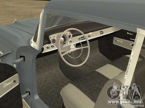 Chevrolet Bel Air 1957 para la visión correcta GTA San Andreas