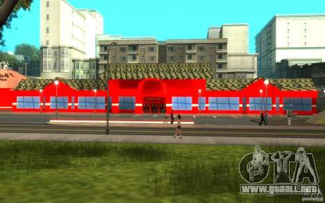 Coca Cola Market para GTA San Andreas