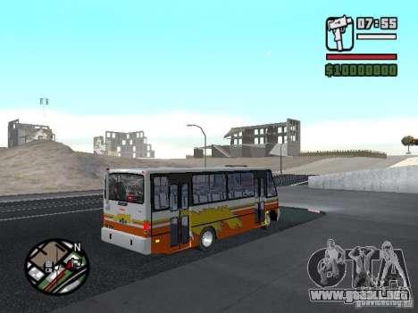 Ciferal Agilis M.Benz LO-814 BY GTABUSCL para la visión correcta GTA San Andreas