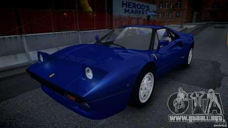 Ferrari 288 GTO EPM para GTA 4 vista hacia atrás
