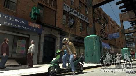 Energy Drink Helmets para GTA 4 tercera pantalla