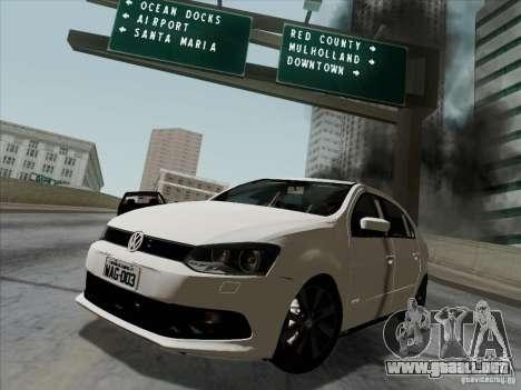 Volkswagen Golf G6 v3 para GTA San Andreas