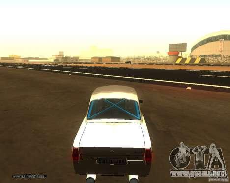GAZ Volga 2410 Drift edición para GTA San Andreas left