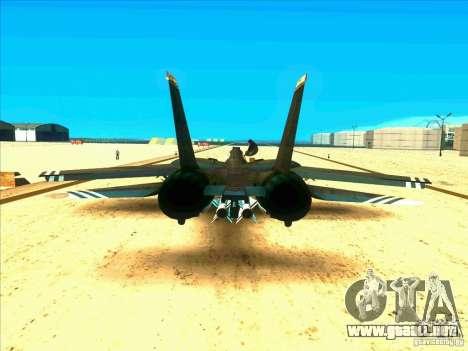 F-14 Tomcat Schnee para la visión correcta GTA San Andreas