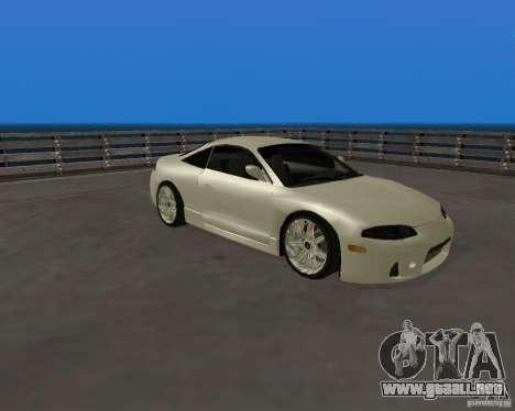 Mitsubishi Eclipse Tunable para GTA San Andreas