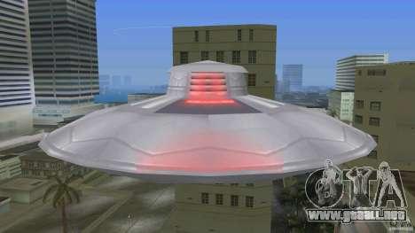 U.F.O. para GTA Vice City visión correcta