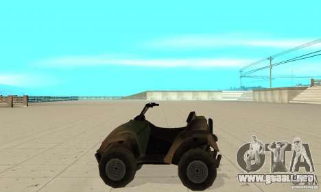 ATV de TimeShift para GTA San Andreas left