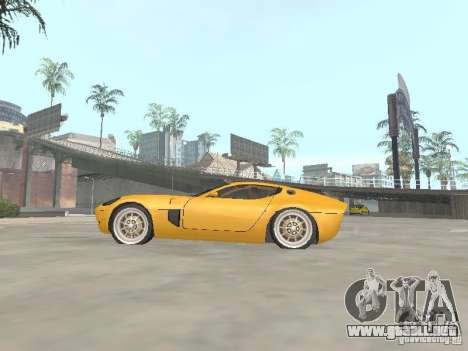 Ford Shelby GR1 para GTA San Andreas left