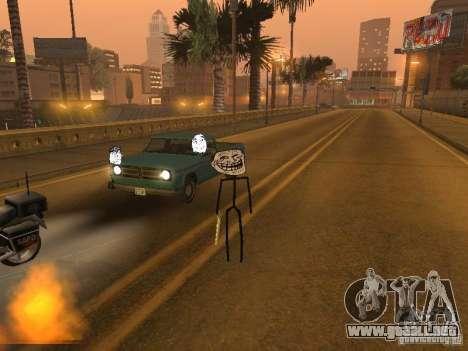 Meme Ivasion Mod para GTA San Andreas novena de pantalla