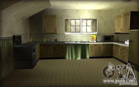 Nuevas texturas para casa Džonsonov para GTA San Andreas