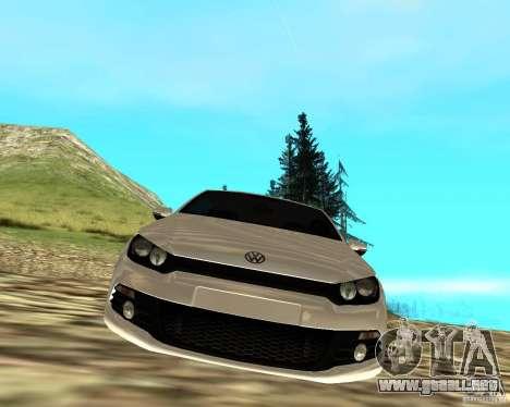 VW Scirocco III Custom Edition para la visión correcta GTA San Andreas