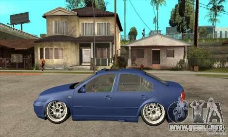 VW Bora VR6 Street Style para GTA San Andreas left