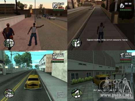 TaxiPass v.1 para GTA San Andreas
