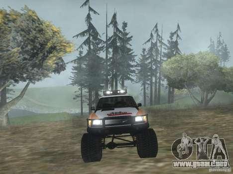 Tornalo 2209SX 4x4 para la visión correcta GTA San Andreas