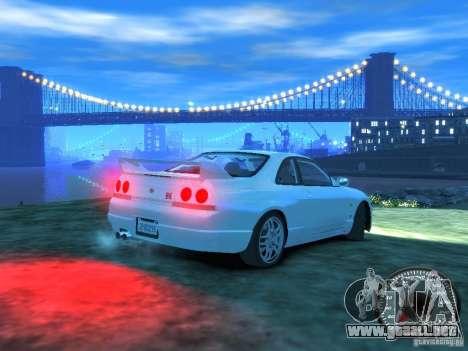 Nissan Skyline GT-R V-Spec (R33) 1997 para GTA 4 visión correcta