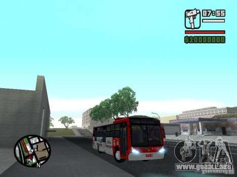 Caio Millennium TroleBus para GTA San Andreas vista hacia atrás