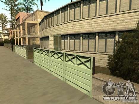 La casa modificada en la playa de Santa Maria 2. para GTA San Andreas tercera pantalla