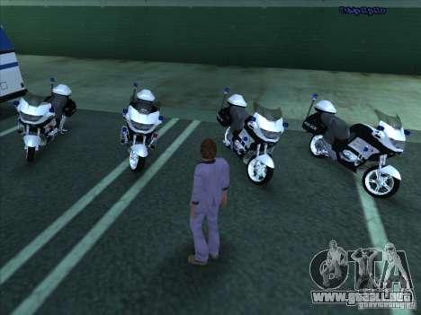 CopBike para GTA San Andreas left