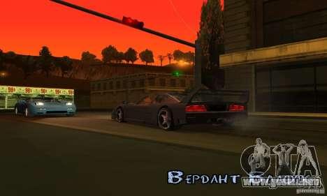 Sunshine ENB Series by Recaro para GTA San Andreas séptima pantalla