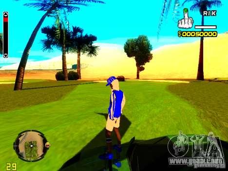 Piel vago v4 para GTA San Andreas segunda pantalla