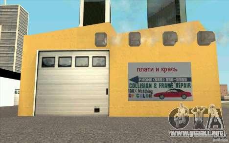 Ukravto Corporation para GTA San Andreas tercera pantalla
