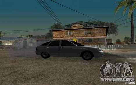 Luz sintonización hatchback LADA priora para la visión correcta GTA San Andreas