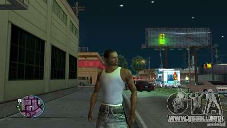 GTA IV HUD para una pantalla ancha (16:9) para GTA San Andreas