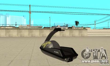 Moto de agua para visión interna GTA San Andreas