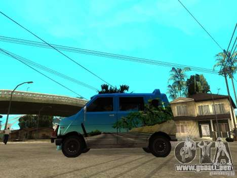 1972 Honda Life Step Van para GTA San Andreas left