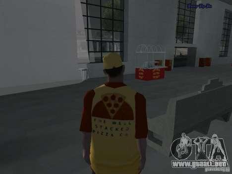 Bandejas de texturas nuevas para GTA San Andreas segunda pantalla