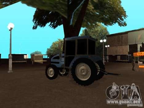 Tractor МТЗ 922 para la visión correcta GTA San Andreas