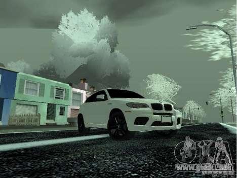 BMW X6M E72 para la visión correcta GTA San Andreas