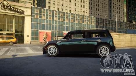 Mini Cooper Clubman para GTA 4 left