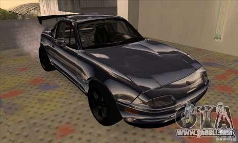 Mazda MX5 Style Drifting para GTA San Andreas left