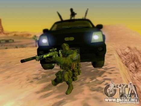 Suv Call Of Duty Modern Warfare 3 para el motor de GTA San Andreas