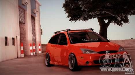 Ford Focus SVT Clean para GTA San Andreas