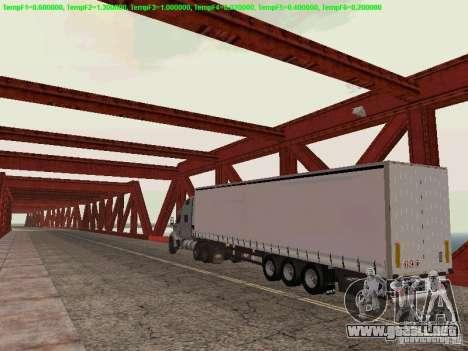 Peterbilt 387 para la visión correcta GTA San Andreas