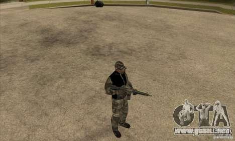 Ropa de camuflaje para GTA San Andreas tercera pantalla