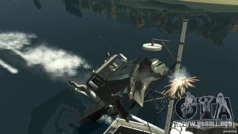 Biff boat para GTA 4 vista superior