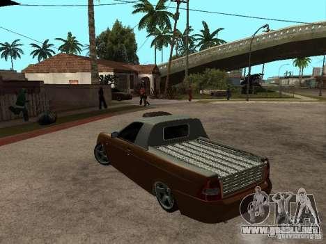LADA 2170 Pickup para GTA San Andreas left