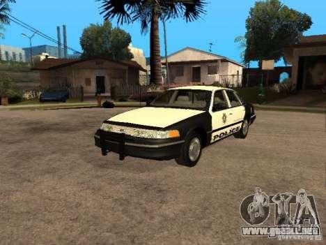 Ford Crown Victoria 1994 Police para GTA San Andreas