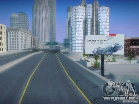 Nuevos carteles por todo el estado para GTA San Andreas segunda pantalla