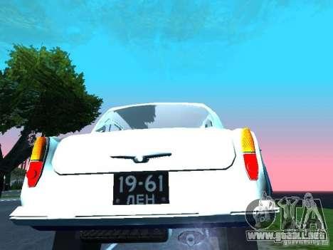 Moskvitch 403 con policía para la visión correcta GTA San Andreas