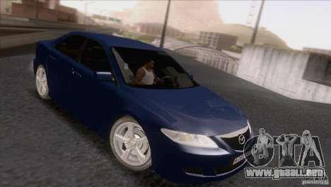 Mazda 6 2006 para GTA San Andreas left