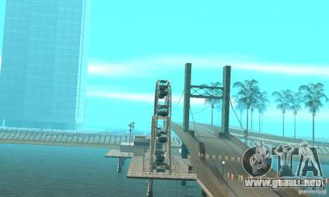Drift City para GTA San Andreas