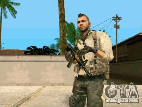 4 Un Mctavish para GTA San Andreas tercera pantalla