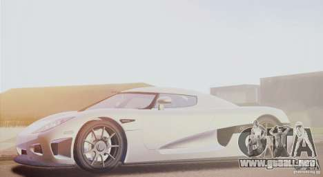 Koenigsegg CCX 2006 v2.0.0 para GTA San Andreas left