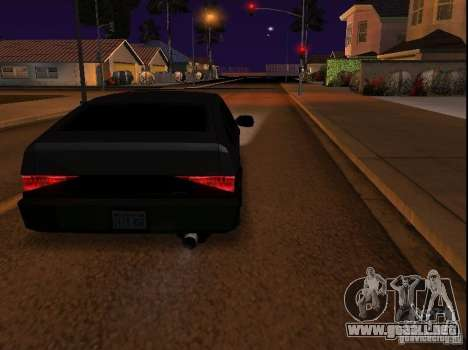 New Blistac para GTA San Andreas left