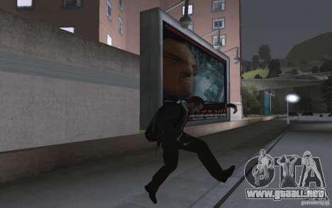 Animación de GTA IV v 2.0 para GTA San Andreas tercera pantalla